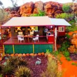 Glamping in the Outback