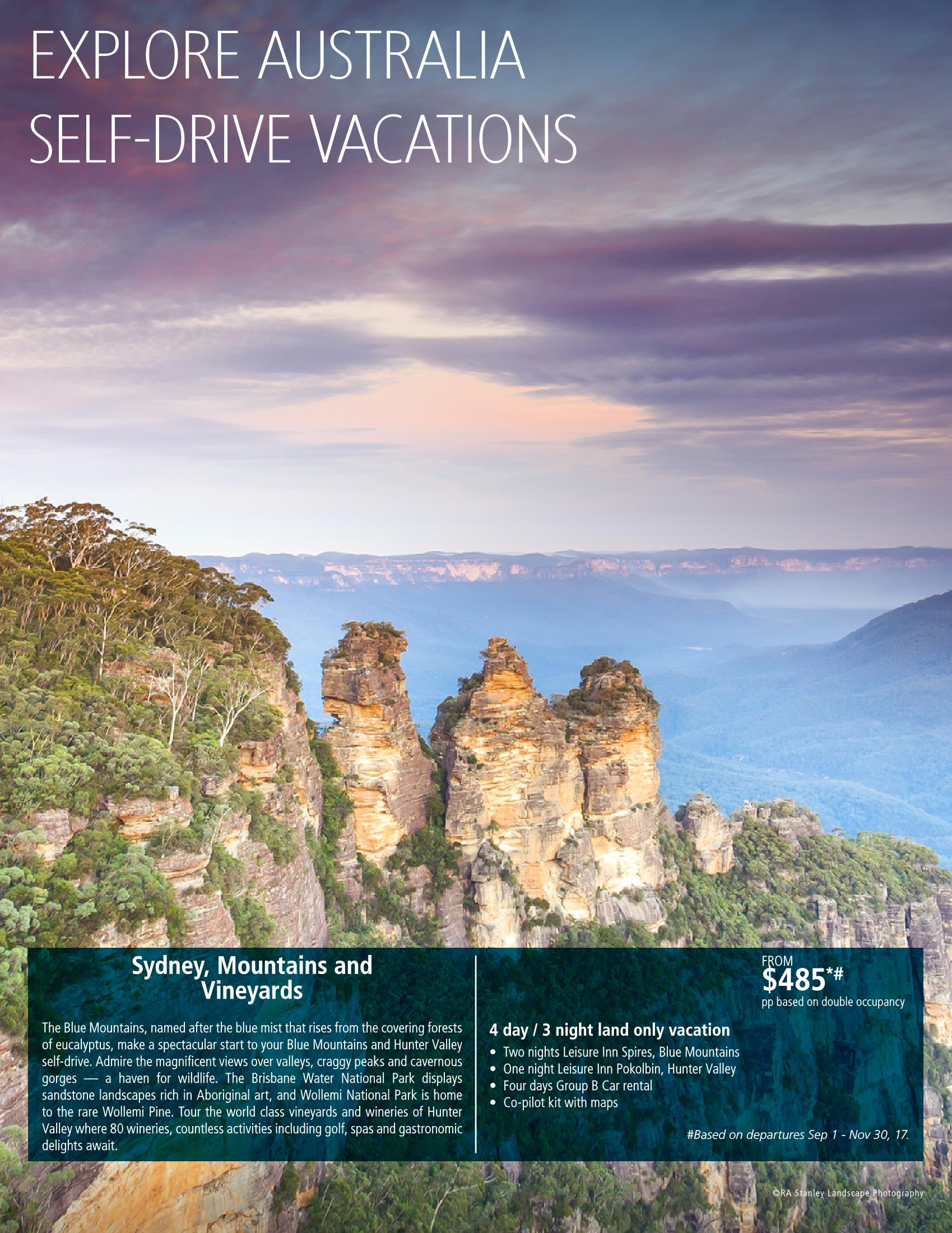 Self-drive Australia by Down Under Answers - Austalia custom vacation