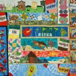Row by Row Quilt Winner in Hilo