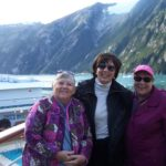 Sawyer Glacier--Betty, Susan and Nancy