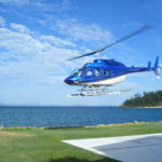 Helicopter From Hayman Island to the Whitsundays