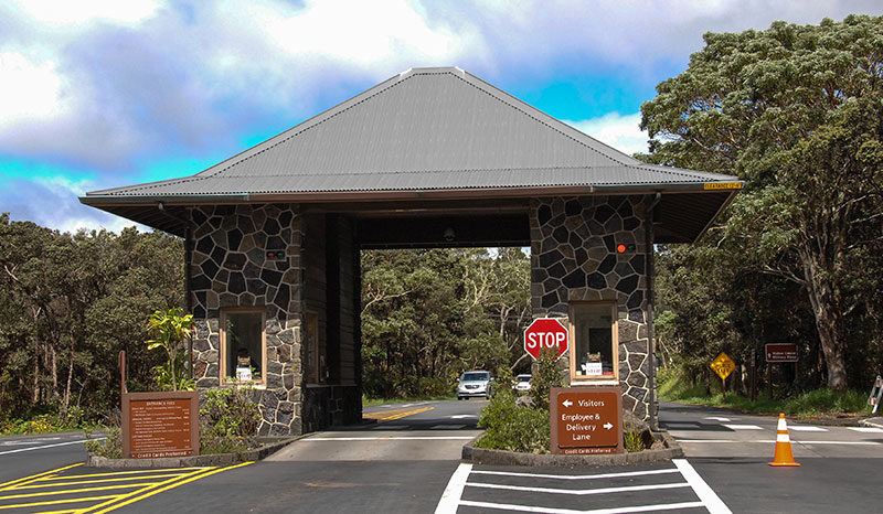 Entrance to Volcano National Park -- Custom Vacation